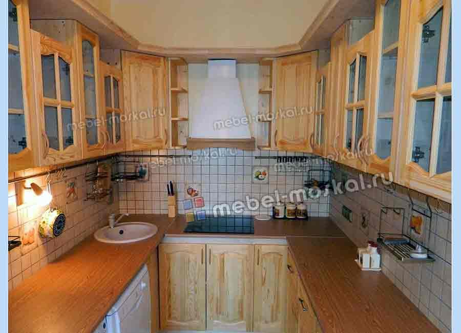 Кухни из деревянных щитов своими руками